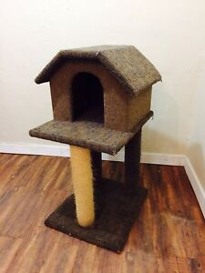 Cat condo/house/scratchpost