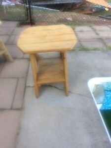 Outdoor lounge table