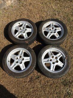 Mitsubishi tyres and wheels