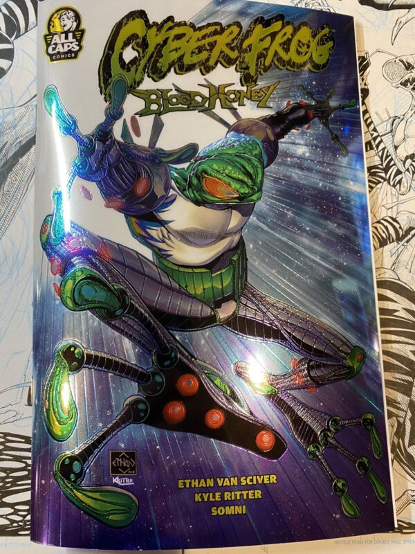 CYBERFROG: BLOODHONEY CHROMIUM EDITION (signed!)