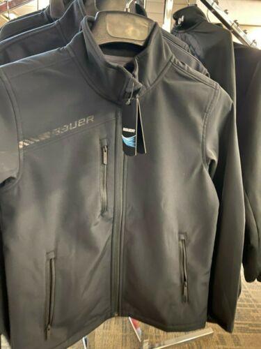 Bauer Team Soft Shell Jacket - Black *New* Multiple Sizes