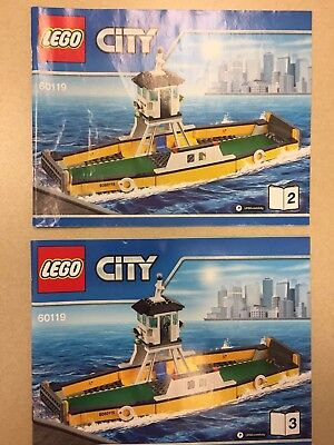 Lego City 60119 Instruction Manuals Book (2) Two & (3) Three Only for sale  West Chester