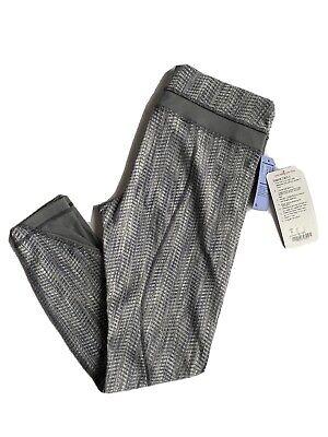 NEW LULULEMON Inspire Tight ll Hugged Gray Mesh Leggings Size 8 NWT Yoga