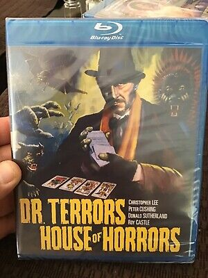 Dr. Terrors House Of Horrors (Blu-Ray, 2015) Amicus, Cushing, Lee, NEW,
