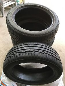 Nokian WR-G2 (x3), WR-G3 (x1) Four All Weather Tires
