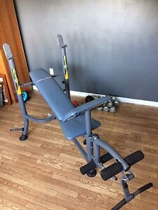 Abs master pro and Competitor bench press