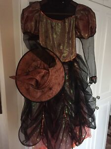Costume sorcière Halloween fille medium