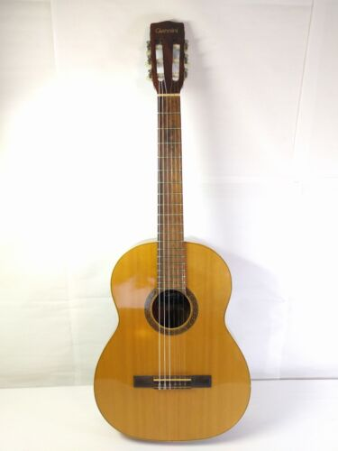 Giannini AWN 70 Classical Acoustic Guitar NICE 1974 VTG Worcester T&S hard case
