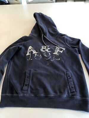 abercrombie and fitch ladies hoodie large
