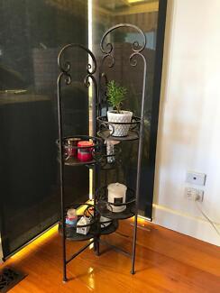 Metal ornament stand - indoor or outdoor