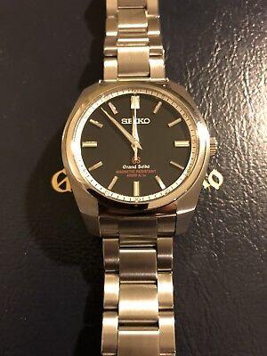 GRAND SEIKO watch men's quartz high magnetic resistance model SBGX 093