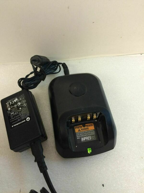 MOTOROLA WPLN4226A Battery Charging Base and Adapter WORKING FREE SHIPPING