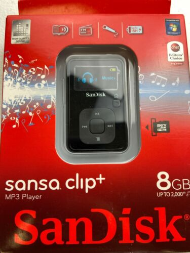 SanDisk Sansa Clip Plus 8GB MP3 Player - Black