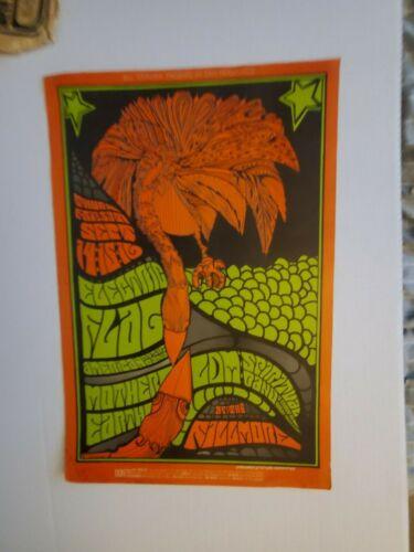 ELECTRIC FLAG EARTH FILLMORE BILL GRAHAM FIRST PRINT BG # 83 CONCERT POSTER 1967