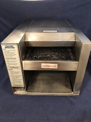 Apw American Permanent Ware Wyott At-10 Commercial Conveyor Toaster  Fsh
