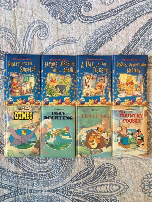 Vintage Disney Enterprises Inc. Mini Board Books 1999 Lot Of 8