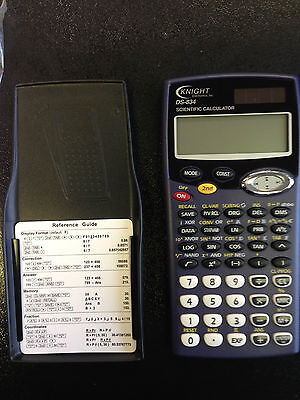 Scientific calculator solar powered DS-834 Knight Electronics