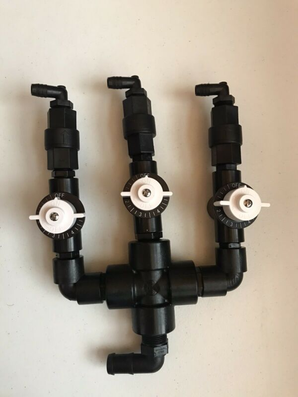 "Pressure Washing & Soft Washing Proportioner Bleach Manifold/ 1/2"" Control Valve"