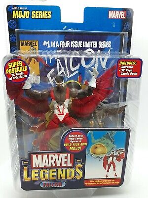 Toy Biz Marvel Legends FALCON Action Figure Mojo Series 2006 A45