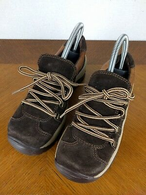 Steve Madden Brown Shoes Starsky Womens Size 6.5 B Lace up Sneakers 90s Fashion
