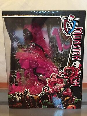 Monster High Friday The 13th (Monster High NIB/NRFB Catty Noir Exclusive Friday The 13th Doll 2013 Katy)