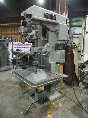 Fosdick 3 Hp 24 Geared Head Drill Press W 26 X 36 Adjustable Table