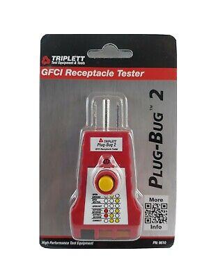 Triplett Gfci Plug-bug 2 Receptacle Outlet Tester