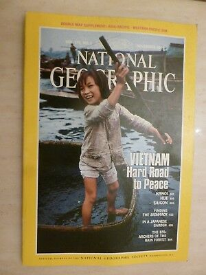 National Geographic- VIETNAM HARD ROAD TO PEACE - NOVEMBER 1989