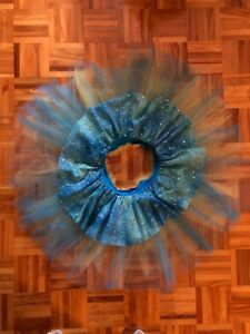 Blue Ballet Costume with Tutu