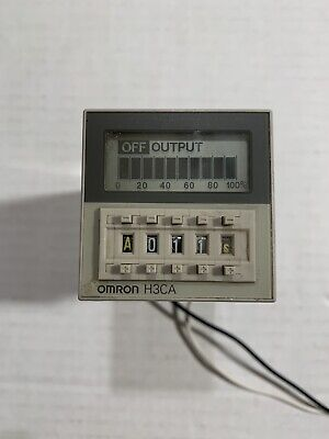 Omron H3ca-a Solid State Timer Panel Mount Used
