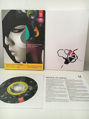 Adobe Creative Suite CS6 Design Standard - Mac - Includes Photoshop etc, used for sale  Shipping to South Africa