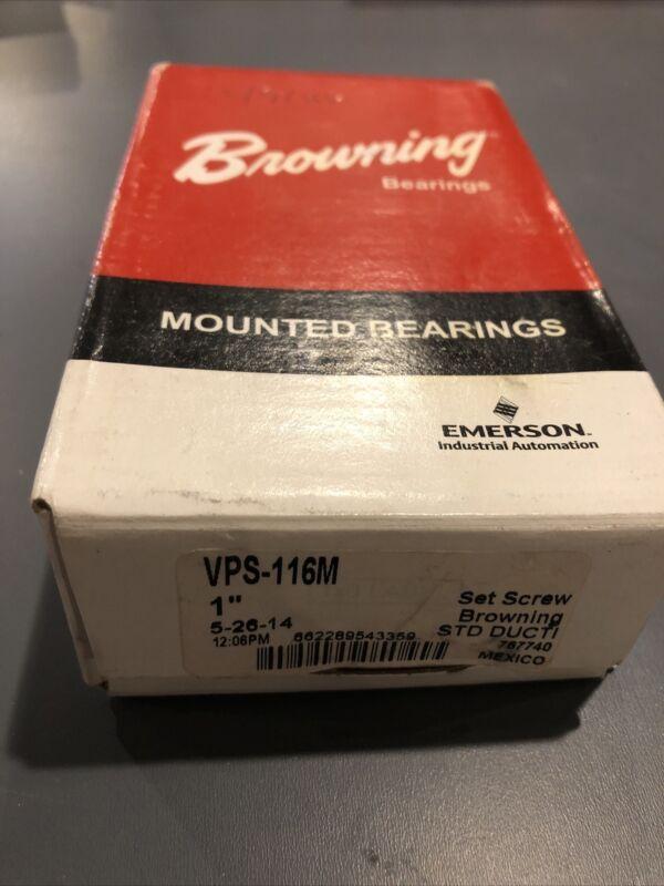 VPS116M Browning New Ball Bearing Pillow Block