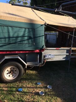 Camper trailer 2010 Australian canvas in very good condition Newcomb Geelong City Preview