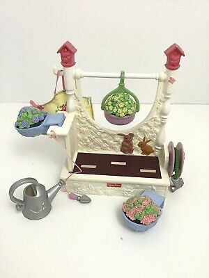 Fisher Price Loving Family Garden Fun Complete Lot Of 9 Pcs 2005