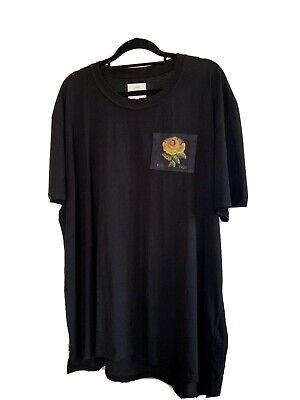 Kent Curwen Black T-shirt - Size XL
