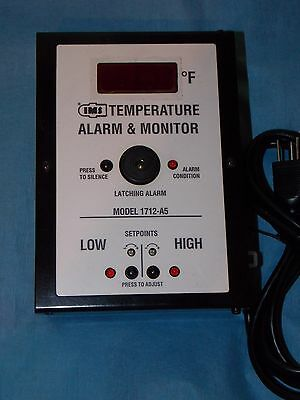 Ims Temperature Alarm Monitor 1712-a5 Winstallation Operation Manual New