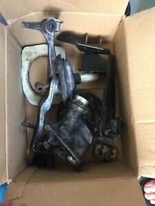 Bmw 335i e90 n54 oil filter housing and shifter linkage