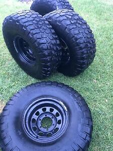 35inch bf Goodrich mud tyres Holden Hill Tea Tree Gully Area Preview