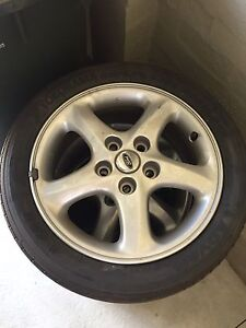 Ford Laser SR2 wheels Bayswater Knox Area Preview