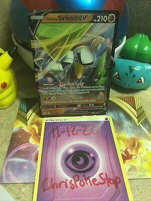 Galarian Sirfetch'd V [SWSH043] Ultra Rare Promo, Sword & Shield, Pokemon TCG