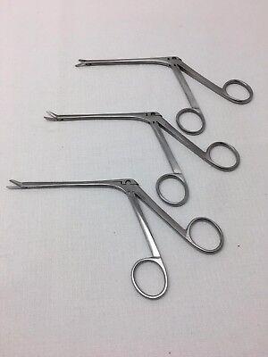 Xomedmedtronic Nasal Sinus Scissor Set 37-13029 37-13030 37-13031