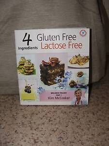 4 Ingredients Gluten Free lactose Free Cookbook Charlestown Lake Macquarie Area Preview