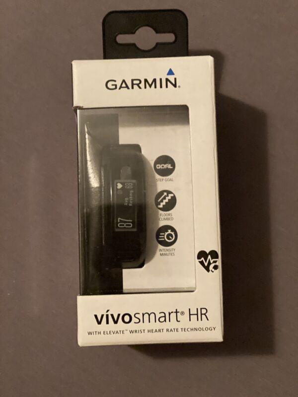Garmin vívosmart HR Activity Tracker Regular Fit - Black 10-01955-06