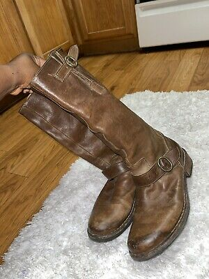 Fiorentini + Baker Distressed Boots Size 39
