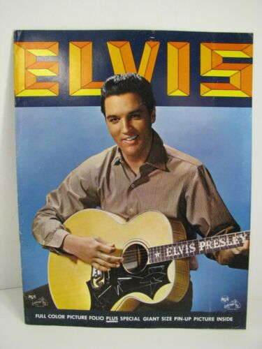 🔵 Elvis Presley Original 1963 Gold Records VOL 3 Picture Folio with Poster 🔵