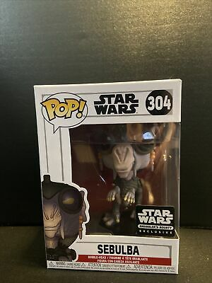 Funko POP! Star Wars #304 Sebulba Smuggler's Bounty Box EXCLUSIVE