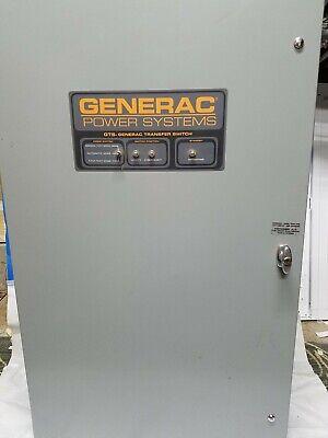 Generac Automatic Transfer Switch Type Gts020w-3k2ldnay 277480 V