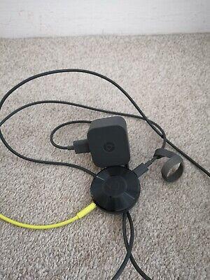 Google Chromecast  Audio 2nd generation - Media Streamer - Black