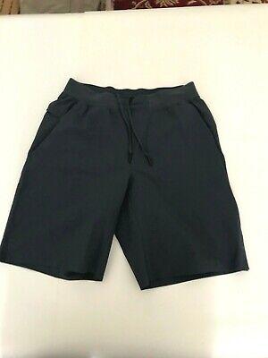 Lululemon Men's T.H.E. Shorts No Liner  Color Dark Blue Size Medium Pre-owned