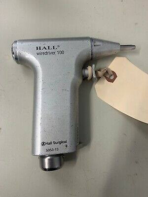 Hall Surgical Wiredriver 100 5053-13 Parts Unit